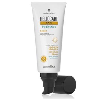 Heliocare 360º Spf50 Loción 200ml, Protector Solar Pediatrics Mineral.