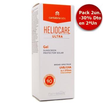 Heliocare Ultra Gel Spf90 50 ml, Protector Solar Pack 2Un.